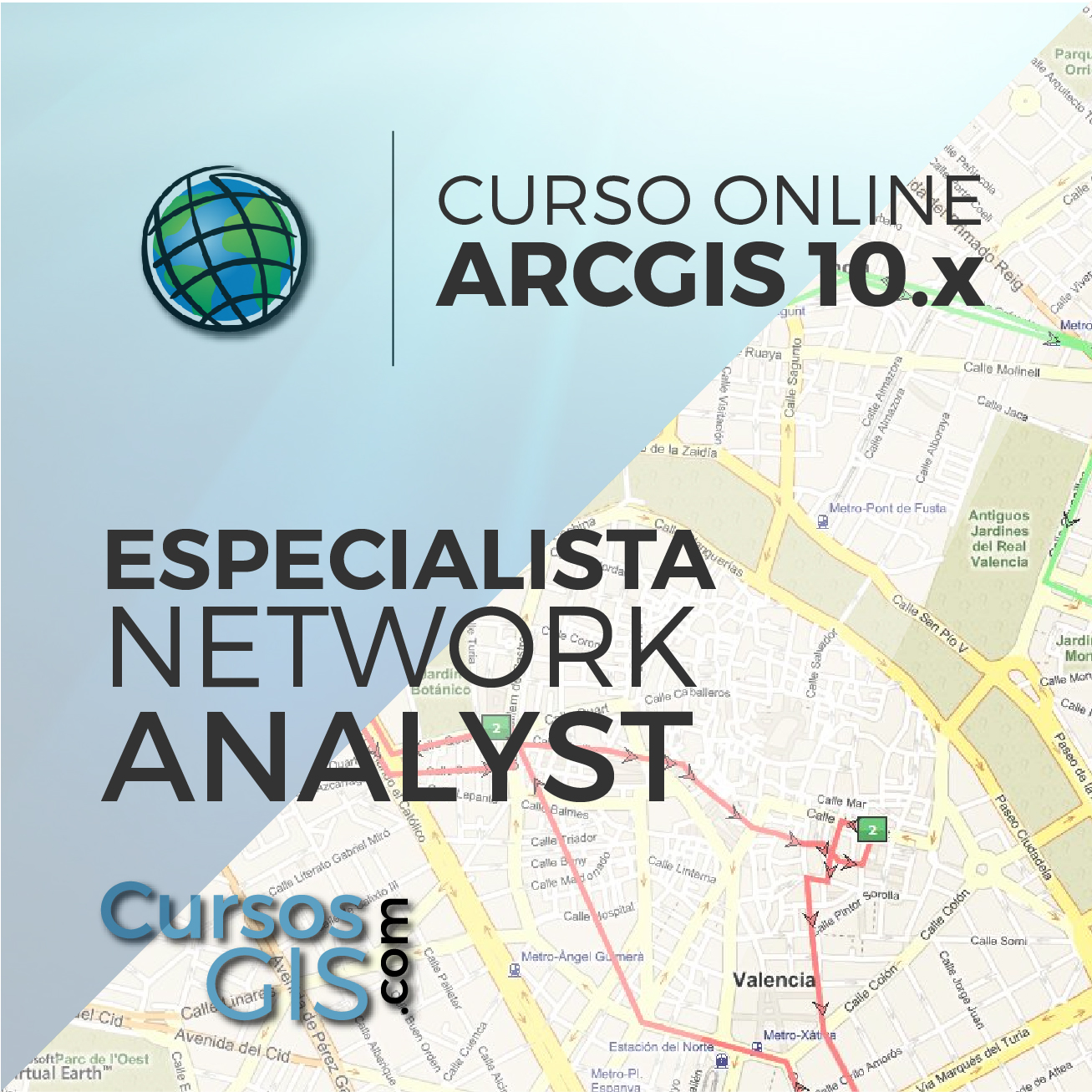 Curso Online ArcGIS Especialista en Network Analyst