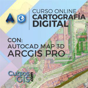Curso Online Cartografía Arcgis pro AutoCAd Map