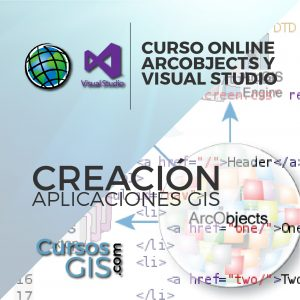 Curso Online arcobjects y visual studio aplicaciones gis
