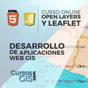 Curso Online desarrollo de aplicaciones gis con open layers y leaflet