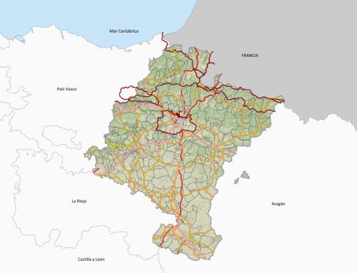Cartografía de Navarra en internet