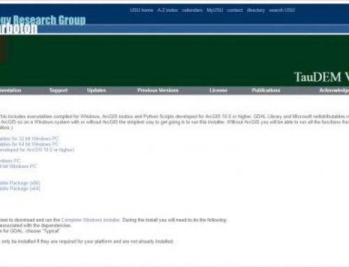 Descargar e implementar TAUDEM en ArcGIS Pro