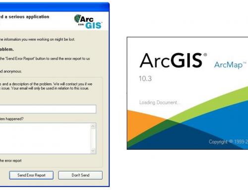 Errores de principiantes en ArcGIS