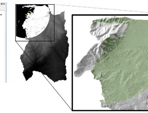 Análisis de cuencas visuales con QGIS