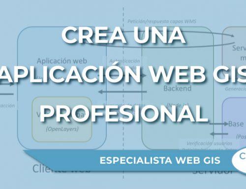 Pasos para crea una aplicación Web GIS profesional