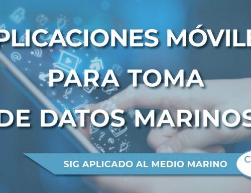 Aplicaciones móviles para toma de datos marinos