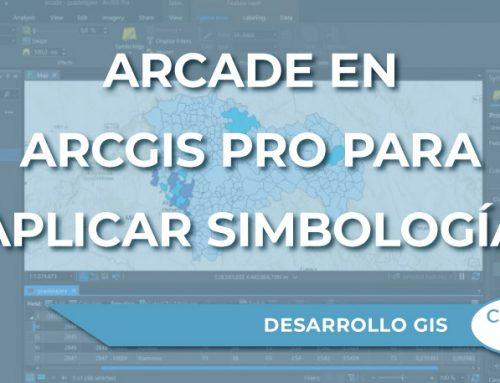 Uso de Arcade en ArcGIS Pro para aplicar simbología