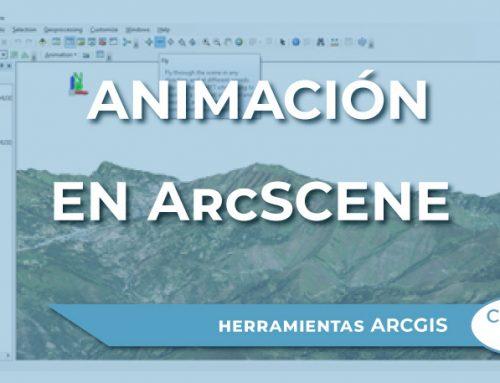 Cómo crear una animación en ArcScene