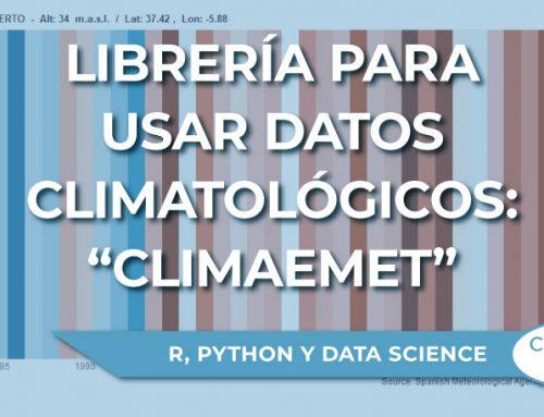 "La librería para usar datos climatológicos en R: ""Climaemet"""
