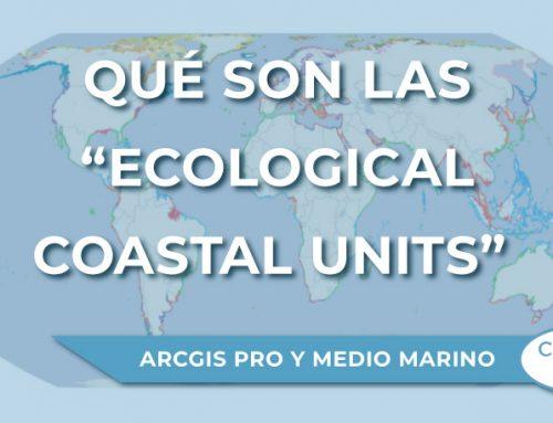 """Qué son las """"Ecological Coastal Units"""" (ECUs)"""