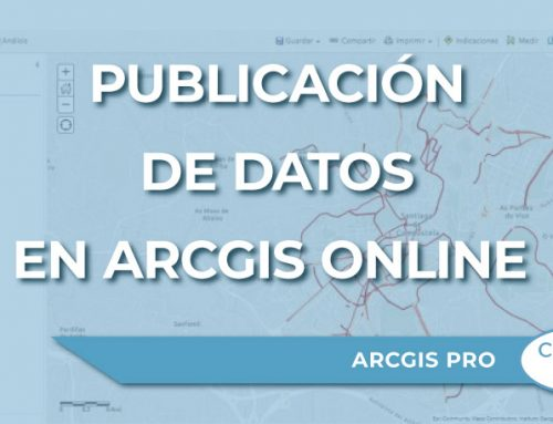 Publicación de datos en ArcGIS online desde ArcGIS Pro