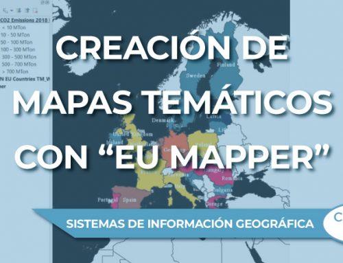 """Creación de mapas temáticos de la Unión Europea con el complemento """"EU Mapper"""""""