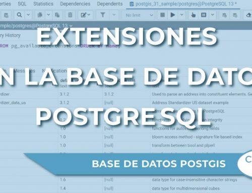 ¿Qué son las extensiones en la base de datos PostgreSQL?