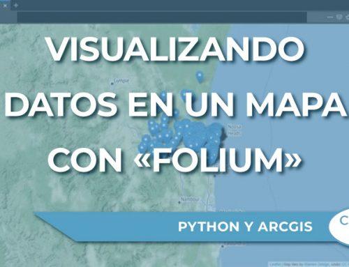 Visualizando datos en un mapa con el paquete de Python «Folium»