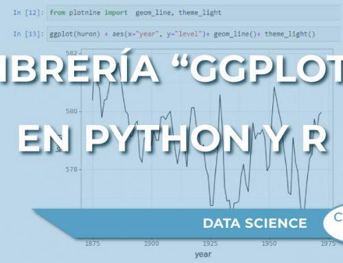 """Uso de la librería """"ggplot"""" en Python y R"""