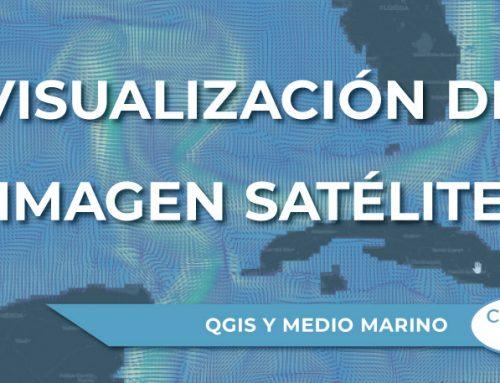 Visualización de imagen satélite (formato netCDF) en QGIS