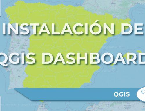 """Instalación del complemento """"QGIS Dashboard"""""""