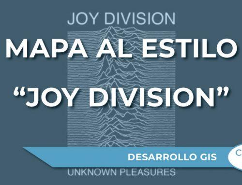 """Cómo conseguir un mapa al estilo """"Joy Division"""" con Peak Maps"""