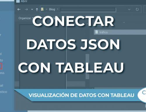 Conectar datos JSON con Tableau