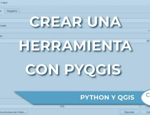 Cómo crear una herramienta con PyQGIS