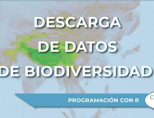Descarga de datos de Biodiversidad con R