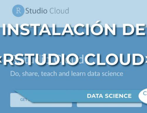 Instalación de «RStudio Cloud»