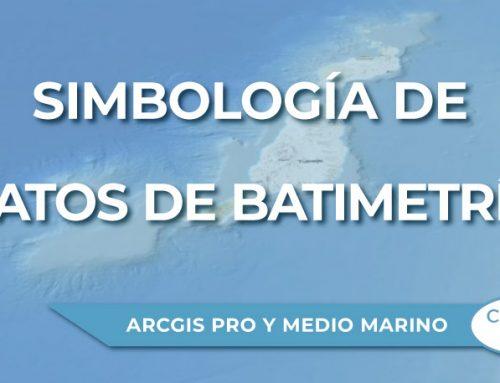 Simbología de datos de batimetría en ArcGIS Pro