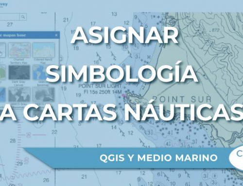 Cómo asignar simbología a cartas náuticas (ENC) en QGIS