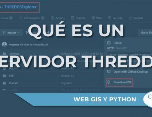 ¿Qué es un servidor THREDDS?