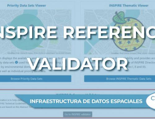 """Se ha lanzado la nueva versión de """"INSPIRE Reference Validator"""""""