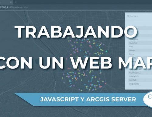 Trabajando con un Web Map con la API JavaScript de Esri