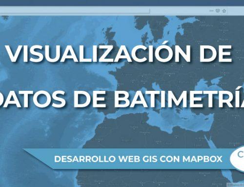 Visualización de datos de batimetría en Mapbox