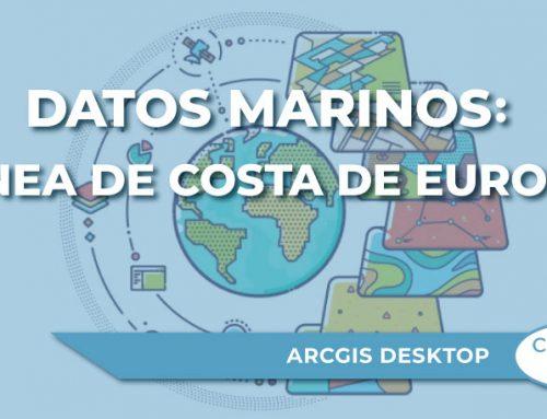 Datos marinos: línea de costa de Europa