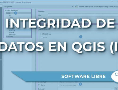 Integridad de datos en QGIS (I): Una visión general