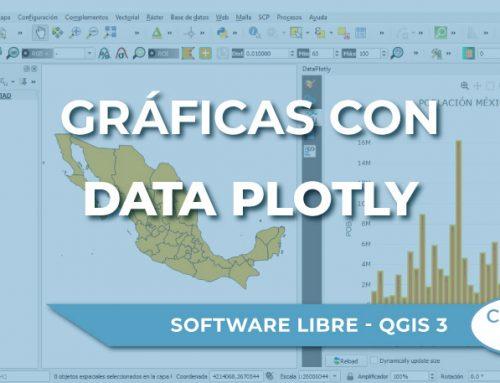 Cómo crear gráficas en QGIS 3 con Data Plotly