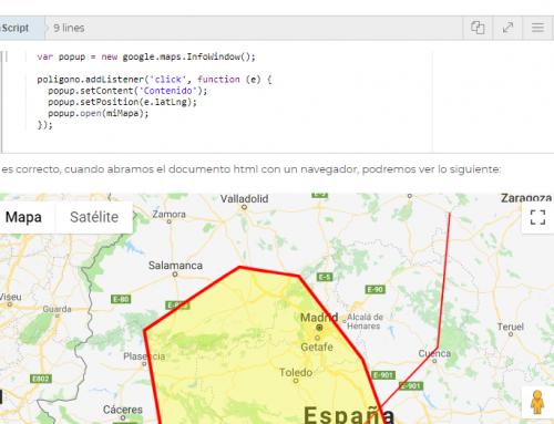 Cómo crear geometrías con la API JavaScript de Google Maps