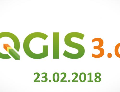 QGIS 3.0 se lanzará mañana 23.02.2018