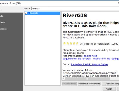 Cómo instalar RiverGIS